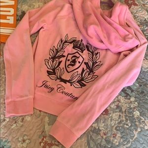 Juicy Couture Girls Velour Jacket